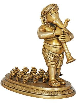 Ganesha in Concert with Rats