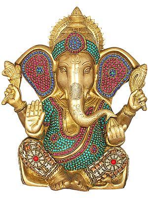 Blessing Inlay Ganesha