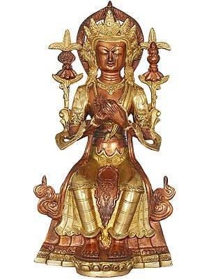 Tibetan Buddhist Deity Maitreya - The Future Buddha