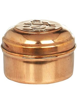 Lord Ganesha Small Box (Rimjim Dabba)