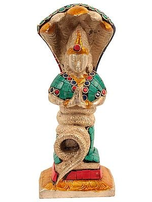 Patanjali Statue with Inlay Work