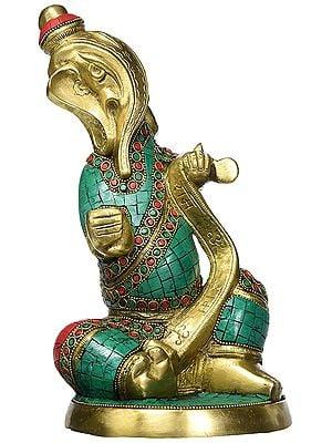 Lord Ganesha with Inlay