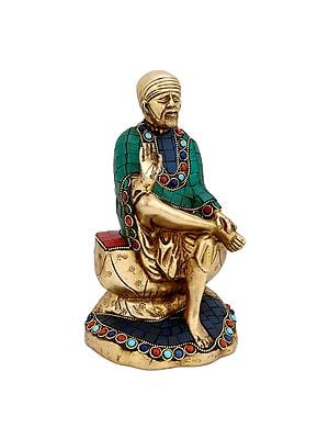 Shirdi Sai Baba with Inlay
