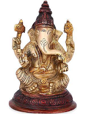 Blessing Ganesha