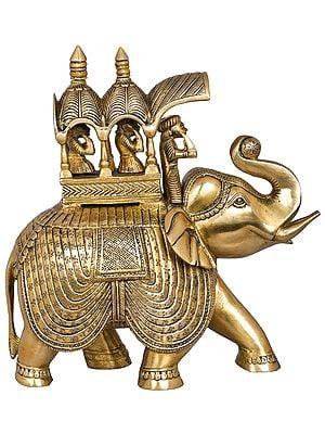 Royal Elephant Palki of a King