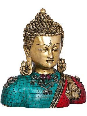 Lord Buddha Bust (Tibetan Buddhist)
