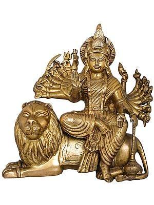 Eighteen Armed Mother Goddess Durga