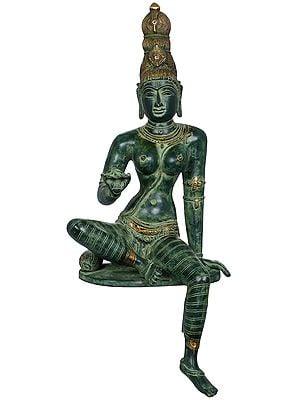 Edge of Desk Seated Goddess Uma