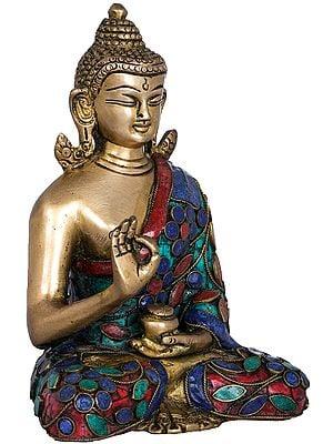 Tibetan Buddhist Deity Preaching Buddha