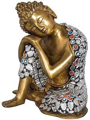 Buddha in Deep Thoughts -Tibetan Buddhist