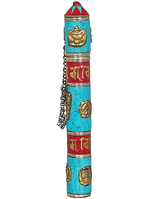 Tibetan Buddhist Incense Stick-holder - Made In Nepal