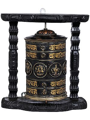 Tibetan Buddhist Prayer Wheel - Made in Nepal
