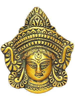Devi Durga Small Wall Hanging Mask