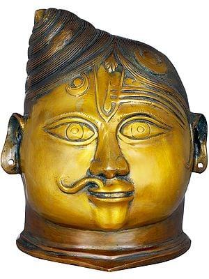 Ardhanarishvara Head