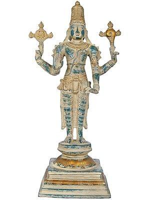 Four Armed Standing Vishnu