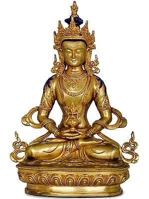 Amitabha Buddha - Tibetan Buddhist Deity (Made in Nepal)