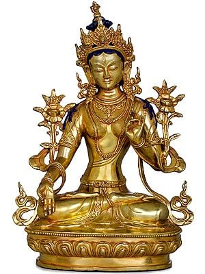 Goddess White Tara -Tibetan Buddhist (Made in Nepal)