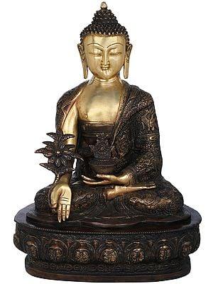 Medicine Buddha (Tibetan Buddhist Healing Buddha)