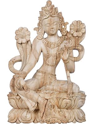 The Saviour Goddess Green Tara - Made in Nepal