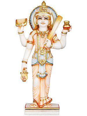 Shitala Mata - Goddess of Cleanliness Who Carries a Broom