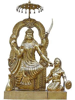 Bagalamukhi: One of the Ten Mahavidyas - Large and Heavy