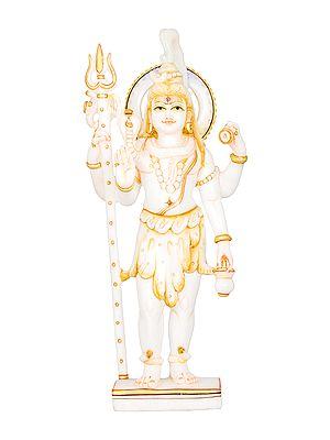 Chaturbhuja Shiva Granting Abhaya