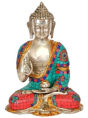 Lord Buddha in Vitark Mudra (Tibetan Buddhist)