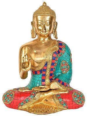 Tibetan Buddhist Lord Buddha in Vitark Mudra