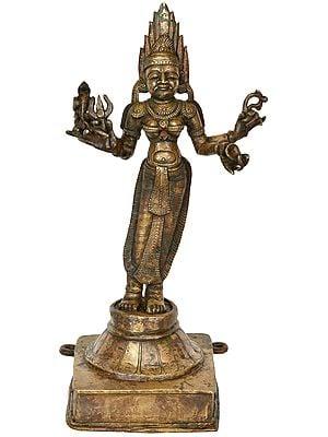 Goddess Kali From Kerala