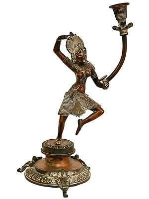 Candle Stand -Inspired by Khajuraho