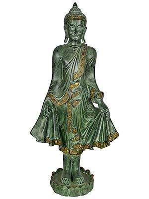 Large Size Standing Gautam Buddha