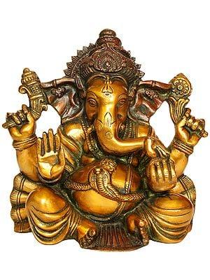 Ganesha Granting Abhaya