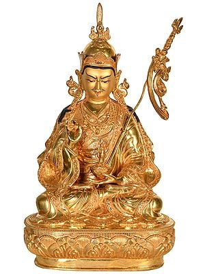 Tibetan Buddhist Deity Padmasambhava or Rin Poche (Made in Nepal)