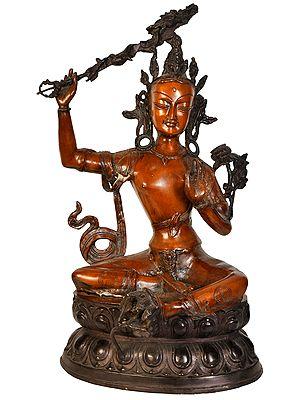 The Resplendent Bodhisattva Manjushri