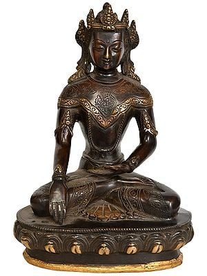 Crown Buddha - Tibetan Buddhist Deity