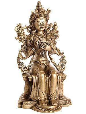 (Tibetan Buddhist Deity) Maitreya - The Future Buddha