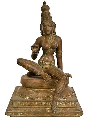 Seated Goddess Uma