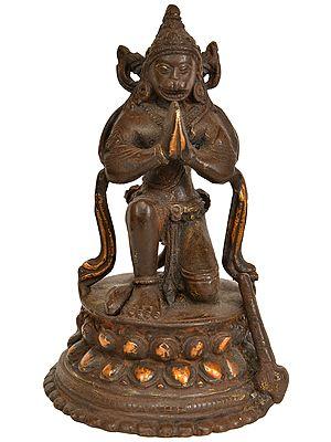 The True Devotee - Lord Hanuman