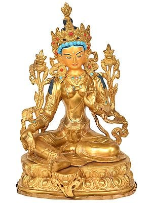 Goddess Green Tara - Tibetan Buddhist