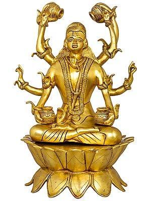 Ashtabhujadhari Lord Mahamrtyunjaya