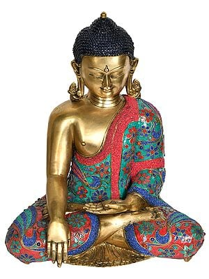 Lord Buddha in Bhumi-Sparsha Mudra