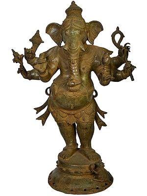 Large Size Standing Ganesha