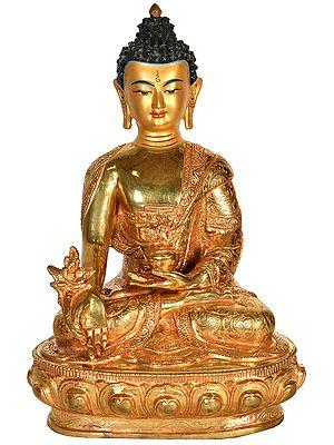 Tibetan Buddhist Healing Buddha (Medicine Buddha) from Nepal