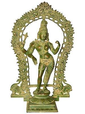 Ardhanarishvara with Prabhawali