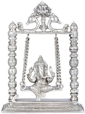 Ganesha on a Swing (Altar Piece)