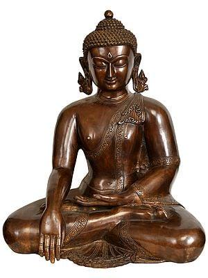 Lord Buddha in Earth Touching Gesture (Tibetan Buddhist)