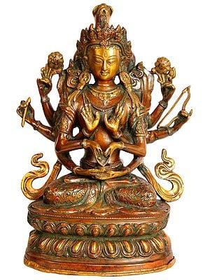 Tibetan Buddhist Deity Namasangati