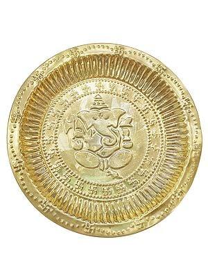 Ganesha Puja Thali