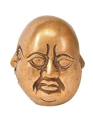 Laughing Buddha Head