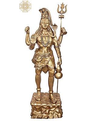 Bhagawan Shiva Treads The Himalayas